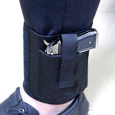Concealed Carry Universal Black Pistol Ankle Leg Gun Holster LCP LC9 PF9 Small