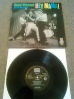 "GENE VINCENT & HIS BLUE CAPS - HEY MAMA ! 10"" LP / UK ROLLER COASTER RECORDS"