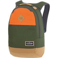 "Dakine CONTOUR 21L Olive Green Orange 15"" Laptop Sleeve Bookbag Backpack"