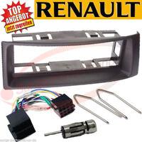RENAULT Megane II 2 Scenic Radioblende Radio Rahmen Blende Komplettset