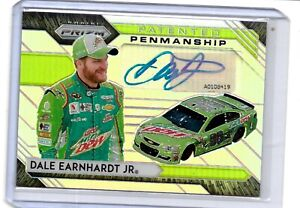 2020 PATENTED PENMANSHIP AUTOGRAPH DALE EARNHARDT JR. SUPER NICE NASCAR RACING