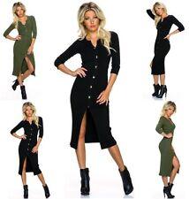 3/4 Arm Damen-Pullover mit mittlerer Strickart in Größe 38