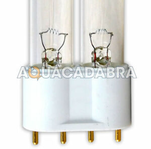UV BULB PLL 18w 24w 36w 55w 4-PIN UVC LAMP TUBE REPLACEMENT SPARE GARDEN POND