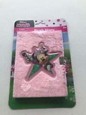 BRAND NEW Unopened MINNIE MOUSE, PLUSH DIARY WITH LOCK And Key Disney Junior 3+