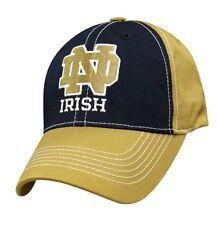 Notre Dame Fighting Irish NCAA Football Cap Berretto NUOVO chiusura in velcro College