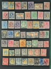THAILAND SIAM STAMPS SELECTION ON LARGE STOCK CARD (N44)