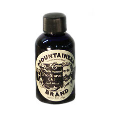 Mountaineer Brand® Pre-Shave Oil (Cool Mint), 2 oz