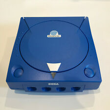 SEGA Dreamcast Console 3rd Party Case Shell Sonic Blue