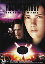 FINAL FANTASY THE SPIRITS WITHIN (2-DISC COLLECTORS EDITION) *NEW & SEALED* DVD