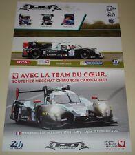 Le Mans 2016 FIA WEC Panis Barthez Competition Ligier JS P2 NISSAN Signed Card