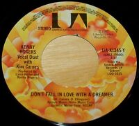 Kenny Rogers, Kim Carnes 45 Don't Fall In Love With A ...