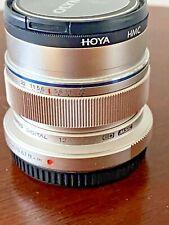 Olympus M.Zuiko EW-M1220 12mm F/2.0 ED Digital Lens - Silver