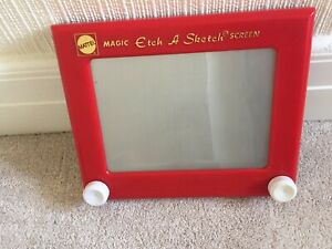 Etch-A-Sketch Drawing Toy 2004 Retro Classic