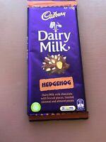 Cadbury Hedgehog Special Edition Chocolate Block **FREE POSTAGE**