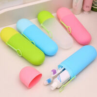 Portable Toothbrush Case Cover Holder Travel Hiking Camping Brush Case