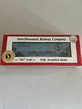 INTERMOUNTAIN PACIFIC WESTERN MYSTERY CAR HO PS2 3 BAY HOPPER GN 172579 RARE