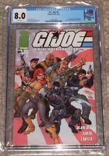 Image Comics GI Joe 1 CGC 8.0 J Scott Campbell Cover 1st Kamakura Snake Eyes Art