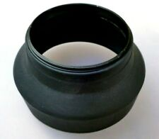 67mm Rubber Lens Hood Shade collapsible 3-way telephoto wide angle