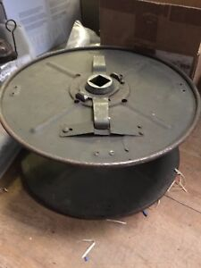 Military army Clansman D10 telephone cable split drum