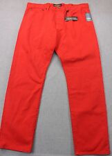 LUCKY BRAND Men RED 121 HERITAGE SLIM STRAIGHT DENIM JEANS PANT NWT 40 x 32  $99