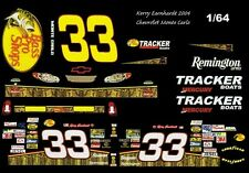 #33 Kerry Earnhardt Bass Pro 20051/64th Ho Scale Slot Car Decals