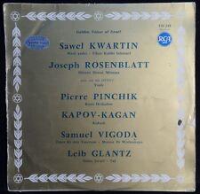 Golden Voices Of Israel - Cantor Sawel Kwartin Joseph Rosenblatt Pierre Pinchik