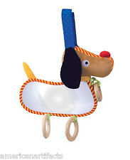 """Manhattan Toy Look at me Puppy Interactive Baby Toy With Mirror 9"""" Infant"""