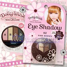 KOJI Dolly Wink Tsubasa Masuwaka Eye Shadow Palette 02 PINK BROWN New Version