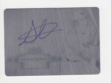 2012 Bowman Sterling STRYKER TRAHAN Print Plate On Card Autograph Auto RC #1/1