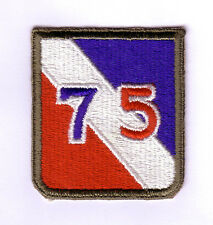 WWII - 75th INFANTRY DIVISION (Original patch)