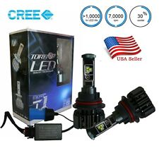9004 HB1 Cree LED Headlight Bulbs 80w 6000K High Low Beam HID Replacement White