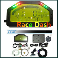 12V DO904 Car Dashboard LCD Screen Rally Gauge - Dash Race Display ,DPU Sensors