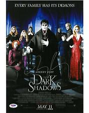 Tim Burton Signed Dark Shadows Authentic Autographed 11x14 Photo PSA/DNA AB89742