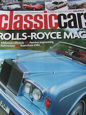 CLASSIC CARS MAGAZINE NOV 2006 ROLLS-ROYCE MAGIC ALFA SPIDER MAURER BMW M1 TRIUM