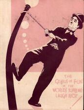 City Lights Original Movie Herald from the 1931 Movie Charlie Chaplin