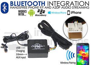 Toyota RAV4 Bluetooth streaming adapter handsfree calls CTATYBT001 AUX iPhone
