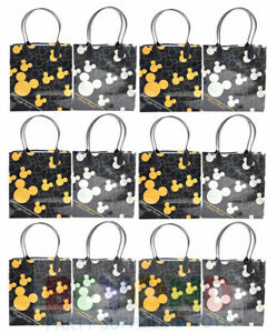 Disney Mickey Mouse HEAD Birthday Party Favor Goody Gift Candy Treat Loot Bags
