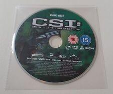 CSI - Season 5 – Part 1 - Disc 1 - Eps 1-4 - R2 - Replacement DVD DISC ONLY