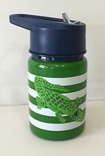 POTTERY BARN KIDS Fairfax NAVY GREEN ALLIGATOR Water Bottle, REGULAR, NEW, READ*