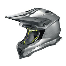 CASCO CROSS NOLAN N53 SMART - 16 RAYADO CROMADO TAMAÑO S
