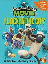 Shaun the Sheep Movie - Flock in the City Sticker Activity Book 9781406359671