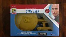 2019 SDCC Diamond Select Star Trek USS Enterprise NCC-1701C Gold Edition Legends