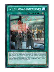 A Cell Recombination Device - Mint / Near Mint Condition YUGIOH Card