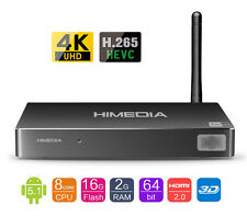 HIMEDIA H8 Pro Octa-Core 64Bit 3D 4K UHD Android TV Box 2GB/ 16GB Network Player