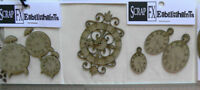CHIPBOARD Die Cuts Mixed CLOCKS - Scrap FX - 5 Style Choice T