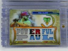2020 Triple Threads Paul DeJong Gold Game Used Patch #3/9 Cardinals T20