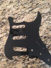 New SINGLE PLY  Black Guitar Pick Guard For Fender Stratocaster 3 SINGLE COIL 3S