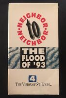 The Flood of 93 VHS St. Louis History KMOV Channel 4 News Red Cross New & Sealed
