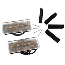 1 Set Alnico V P90 Electric Guitar Pickup Neck&Bridge Guitar Accessory