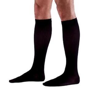 Sigvaris 970 Dynaven Series 30-40 mmHg Men's Closed Toe Knee Highs - 923C Black